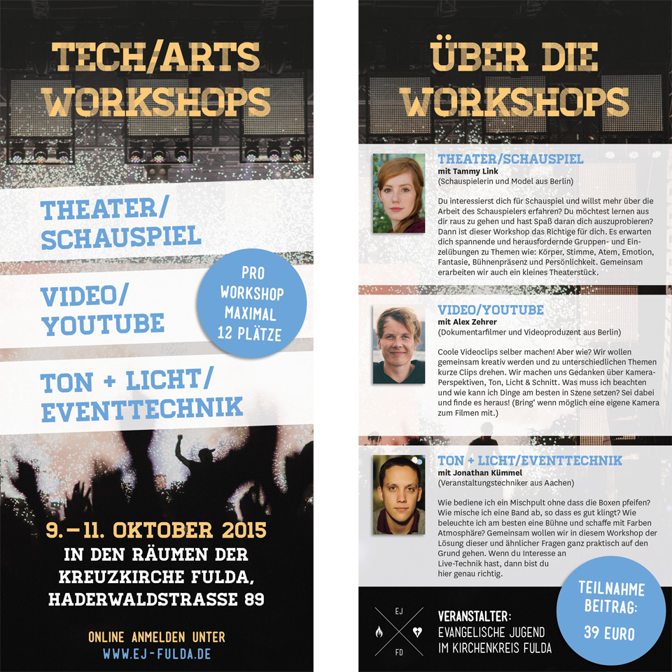 Tech/Arts Workshops 2015