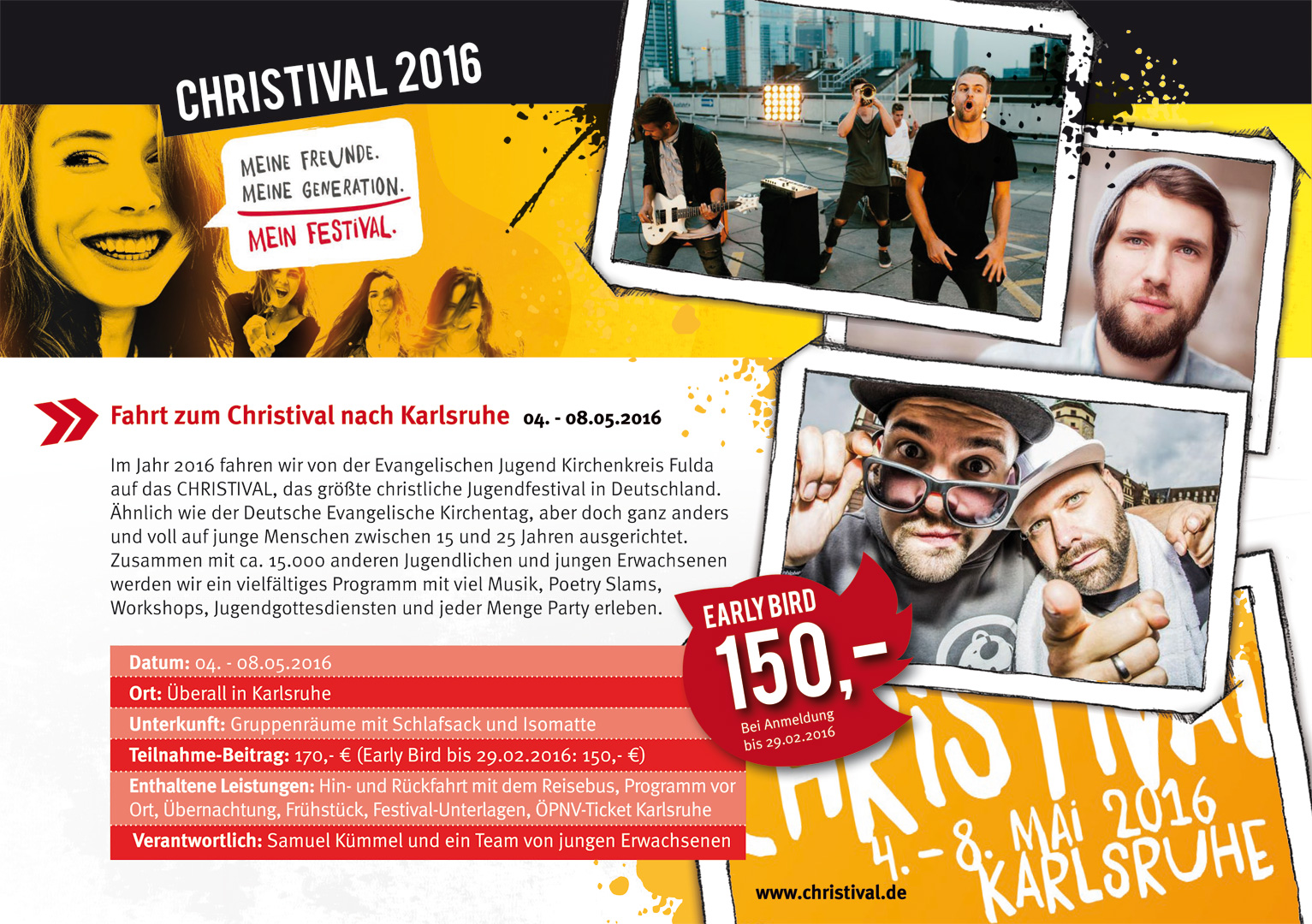 Christival 2016 Überblick