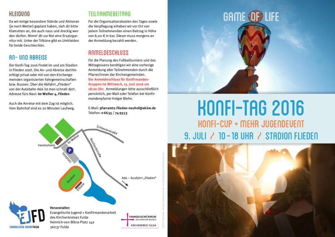 Konfi-Tag 2016 Flyer aussen